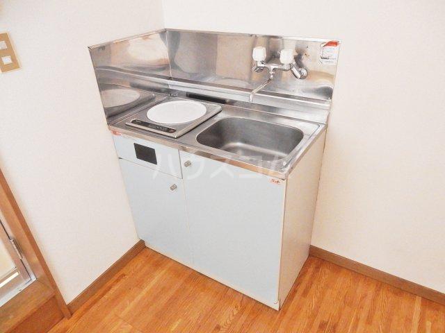 ジュネスB 203号室のキッチン