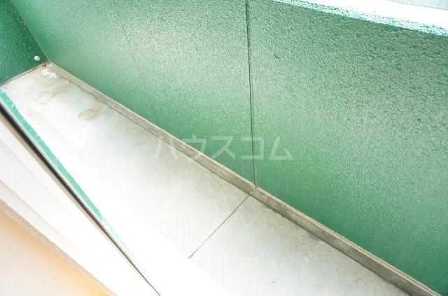 メゾンSⅡ 2C号室のバルコニー