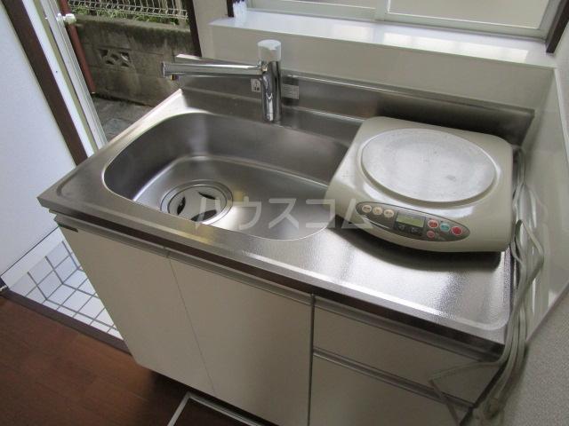 ニュー本多 101号室のキッチン
