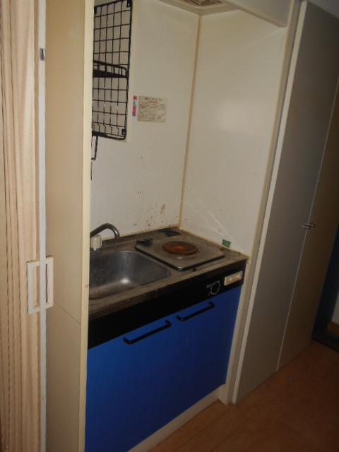 ハイツ秀峰 102号室のキッチン