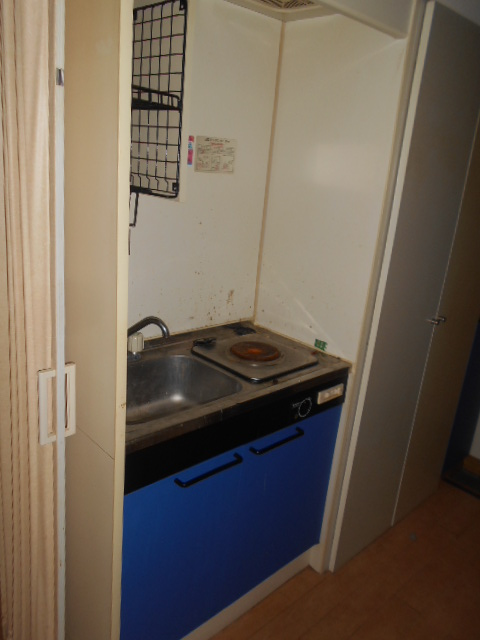 ハイツ秀峰 103号室のキッチン