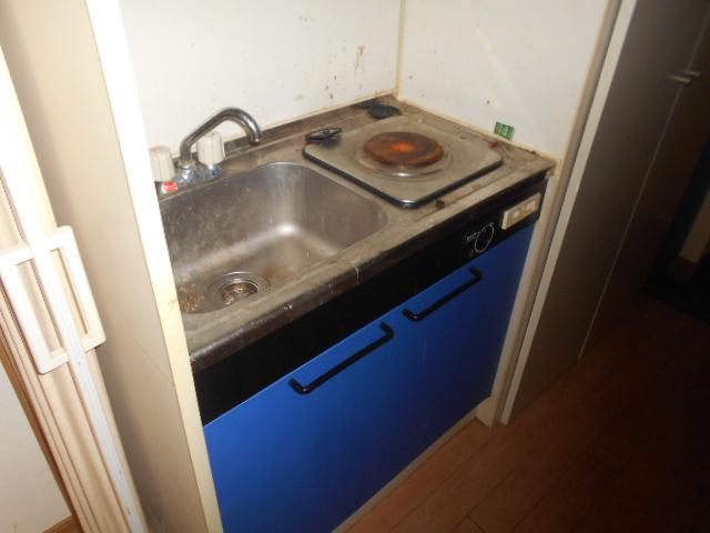 ハイツ秀峰 202号室のキッチン