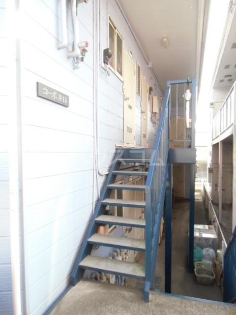 コーポ井口 205号室のエントランス