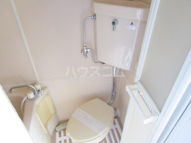 GARDEN HILL国分寺 206号室のトイレ