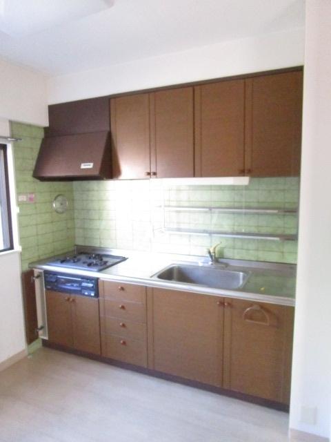ハイツアゼリア 204号室のキッチン