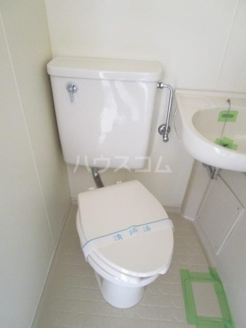パークアベニュー国分寺 303号室のトイレ
