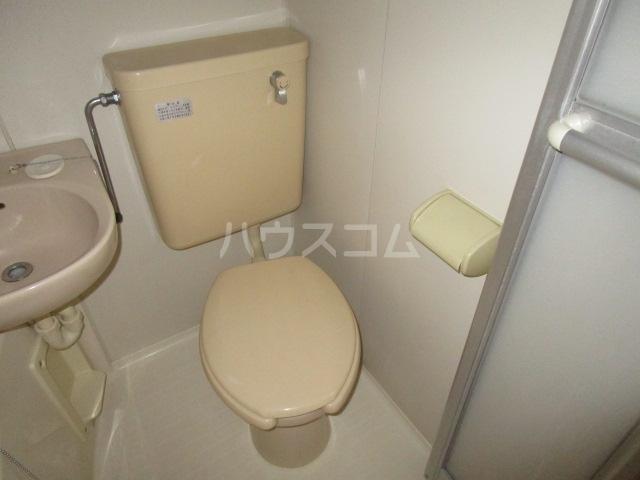 メビウスair 3-C号室のトイレ