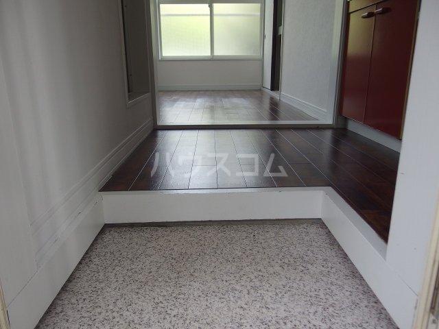 NKハイツ 210号室の玄関