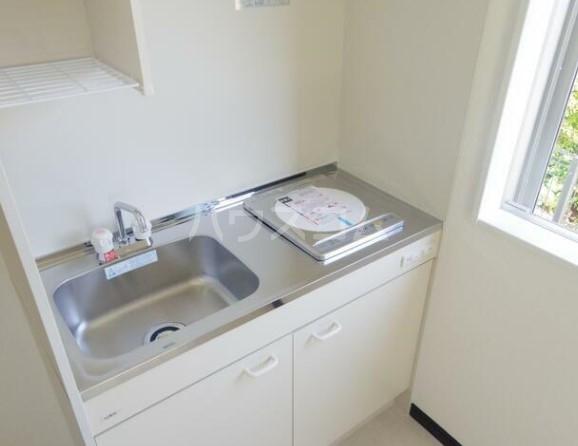 グラム港南 201号室のキッチン