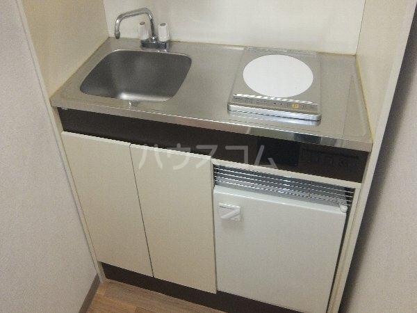 新清洲クラウンビル 201号室のキッチン