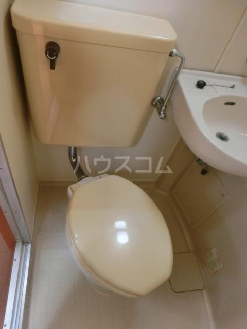 STコーポ 203号室のトイレ