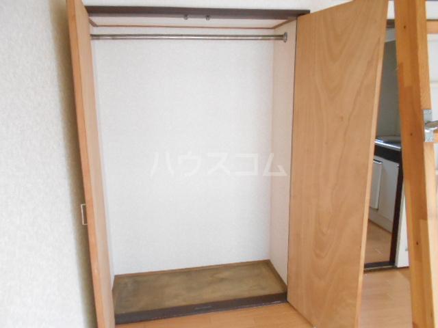 ラ プランセス 2-D号室の収納