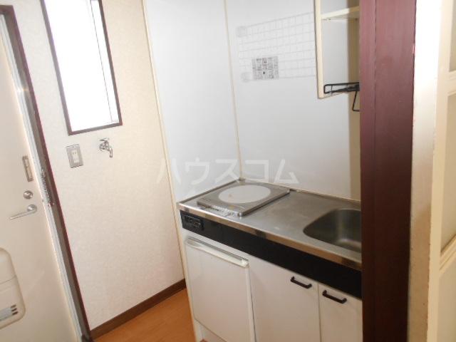 ラ プランセス 2-D号室のキッチン