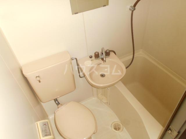 ラ プランセス 2-D号室のトイレ
