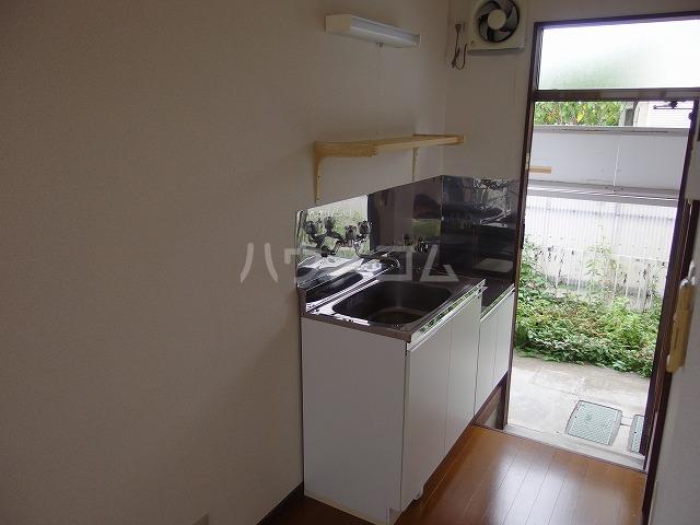 コーポ北形 201号室のキッチン