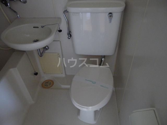 コーポ北形 201号室のトイレ