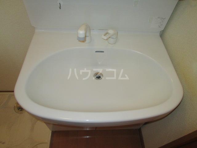 ベーネ8 205号室の洗面所