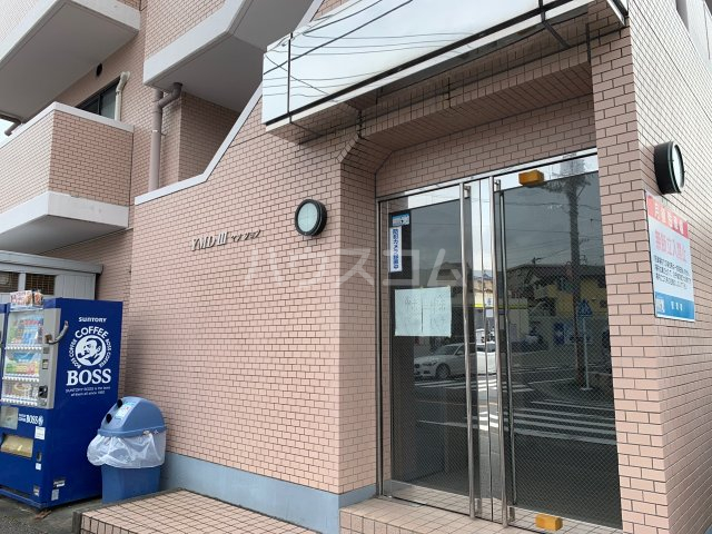 YMDⅢマンション 407号室のエントランス