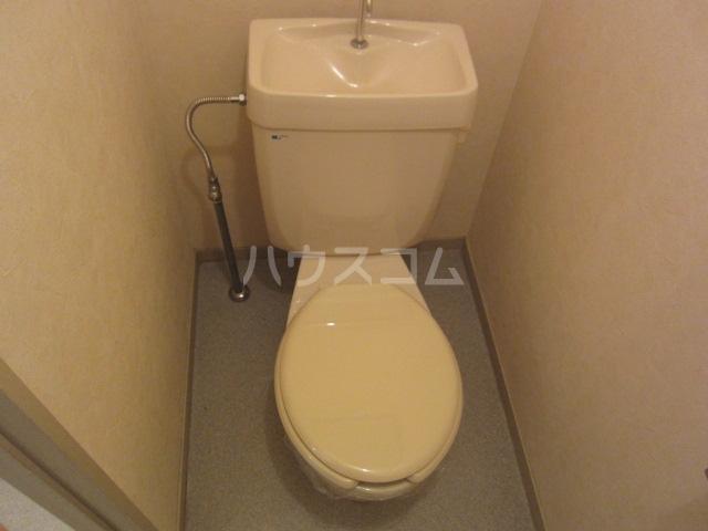 グリンパーク清水 202号室のトイレ