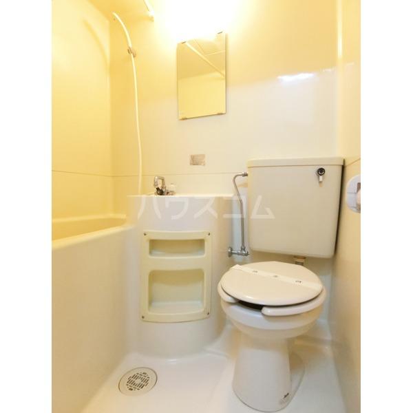 ハイツ小野路 205号室の洗面所
