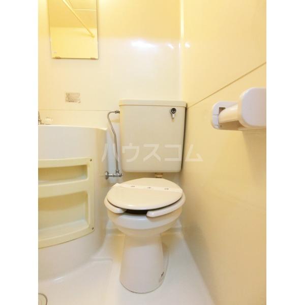 ハイツ小野路 205号室のトイレ