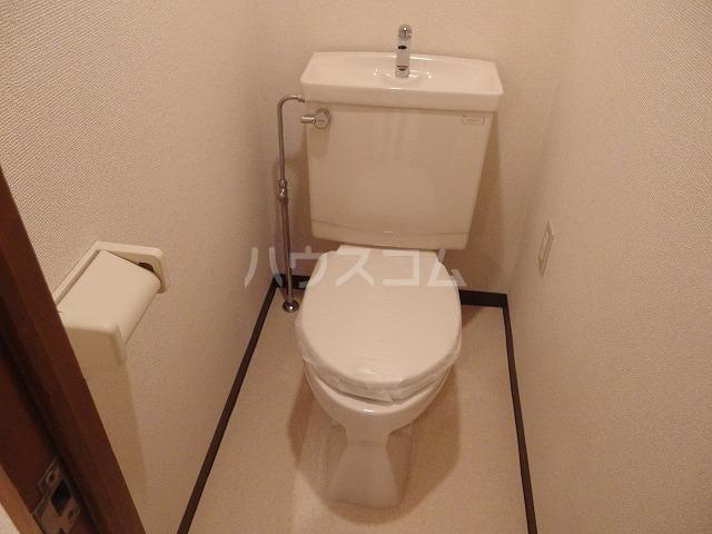 ガーデンスクエア 503号室のトイレ