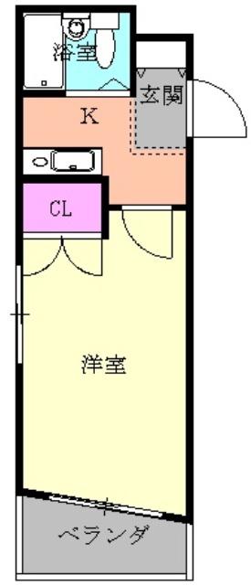 セザール鶴舞公園・303号室の間取り