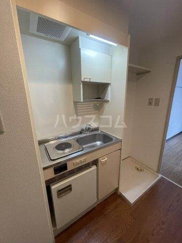 アメニティ泉 7A号室のキッチン