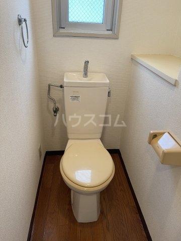 アメニティ泉 7A号室のトイレ