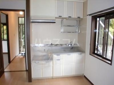 サンハイツⅠ 101号室のキッチン