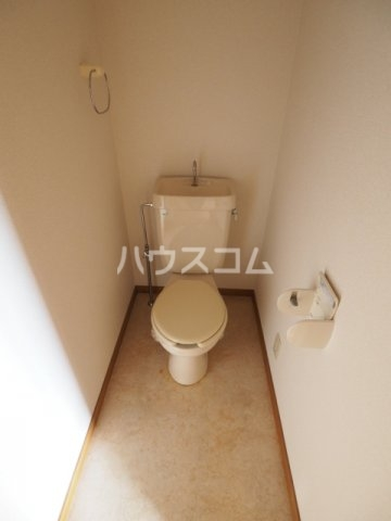 エクセレンス鳩岡 802号室のトイレ