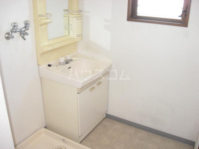 リバーサイド蘭 201号室の洗面所