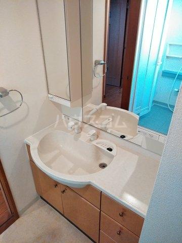 ローズガーデン行徳フィネス 705号室の洗面所