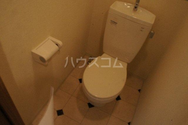 ライスフィールド 202号室のトイレ