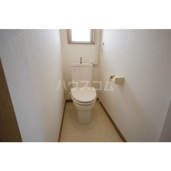 やなせハイツ 401号室のトイレ