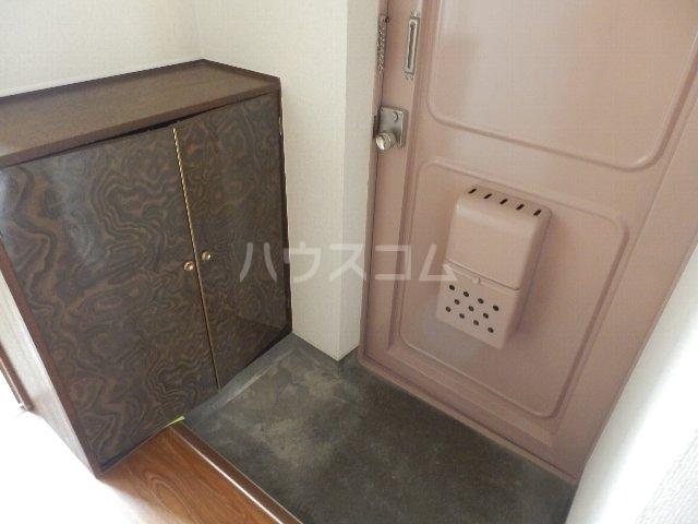 葵荘 101号室の玄関