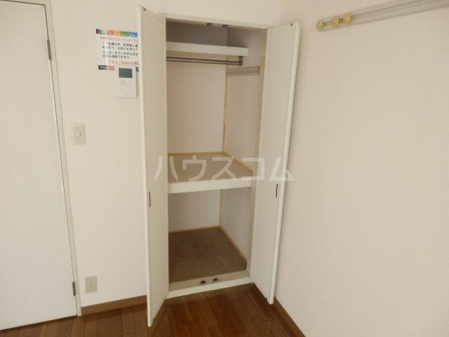 カーサU 103号室の収納