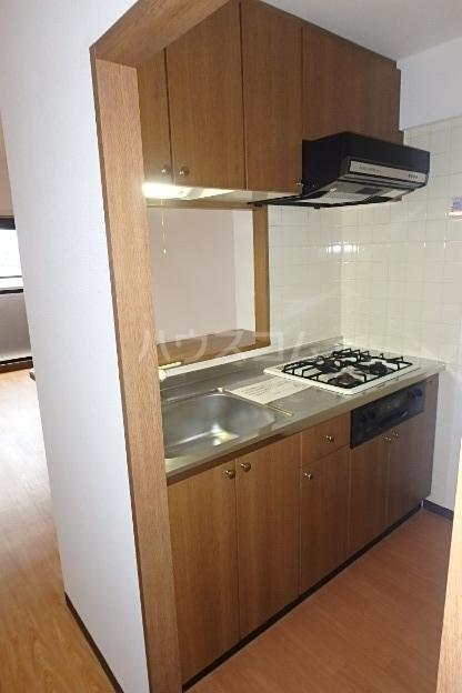 パラディーソ白壁 3B号室のキッチン