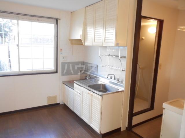 コーポサンテラスⅡ 101号室のキッチン