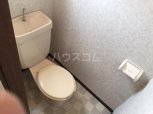 コーポラス改田 S25号室のトイレ