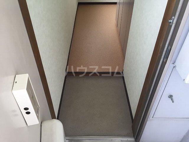 コーポラス改田 S25号室の玄関