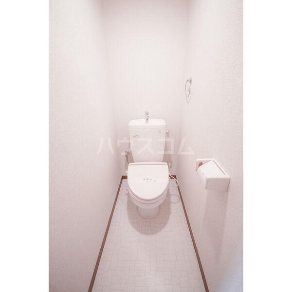 Heartful Verano 303号室のトイレ