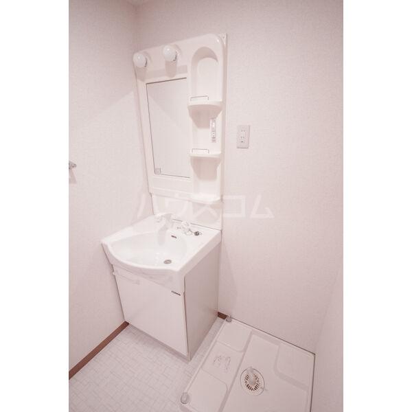 Heartful Verano 303号室の洗面所