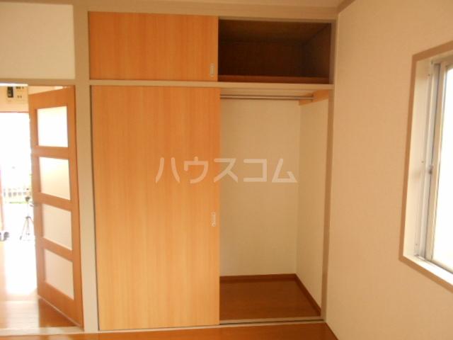 第2スザキハイツ 202号室の収納