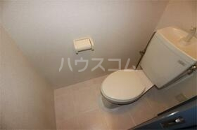 フェリス程久保 201号室のトイレ