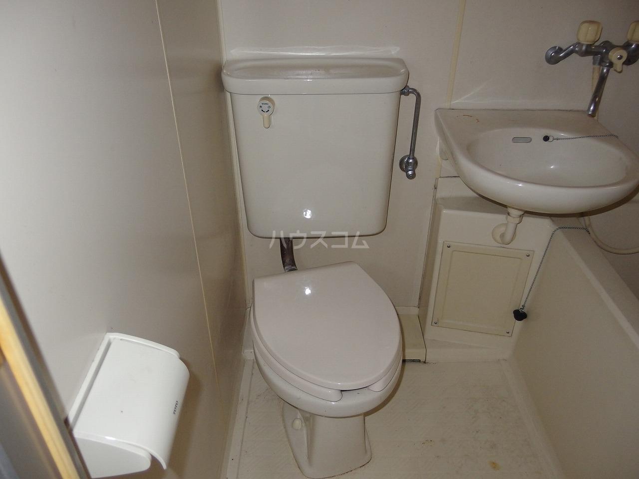 コーポアメニティⅠ 108号室のトイレ