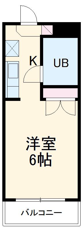 ラ・ジオン連光寺・305号室の間取り