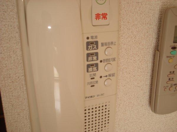 ガーデンビュー石神C聖蹟 307号室のセキュリティ