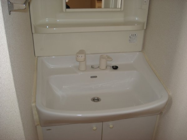 ガーデンビュー石神C聖蹟 307号室の洗面所
