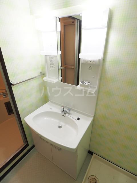 アスピア若鶴 305号室の洗面所